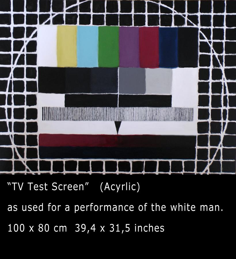 Testbild für der weiße Mann testet Hamburg